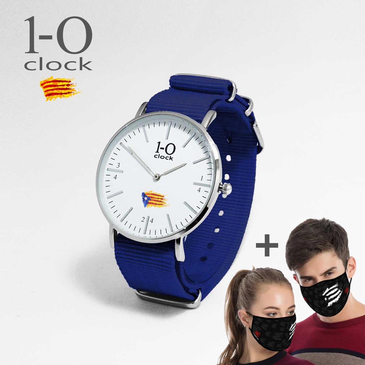 ES BLAU Q 36 Rellotge + Mascareta